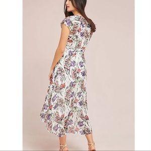 Anthropologie Maeve | Flora Wrap Dress